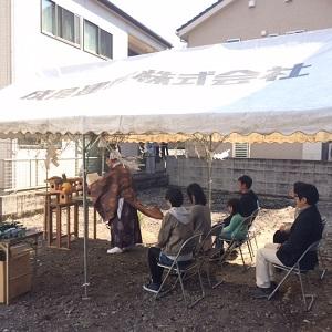 地鎮祭K2